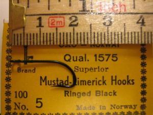 Mustad 1575 No.5 Limerick