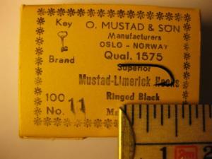 Mustad 1575 No.11 Limerick