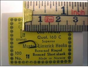 Mustad 160C No.9 Limerick