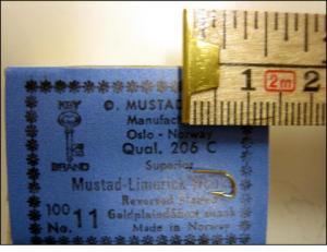 Mustad 206C No.11