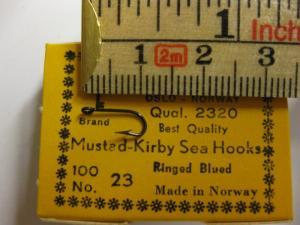 Mustad 2320 No.23 Kirby