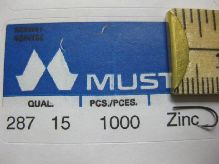 Mustad 287 No.15 Round