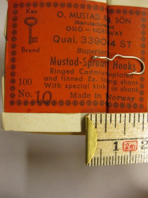 Mustad 33904ST No.10 Sproat