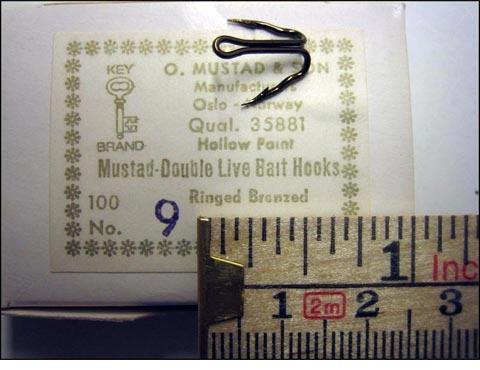 Mustad 35881 No.9 Live Bait