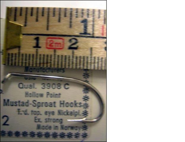 Mustad 3908C No.2 Sproat