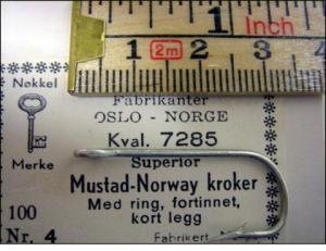 Mustad 7285 No.6 Norway