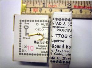 Mustad 7788C No.8 Round