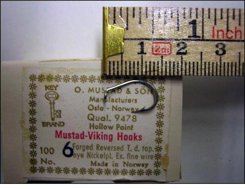 Mustad 9478 No.6 Viking