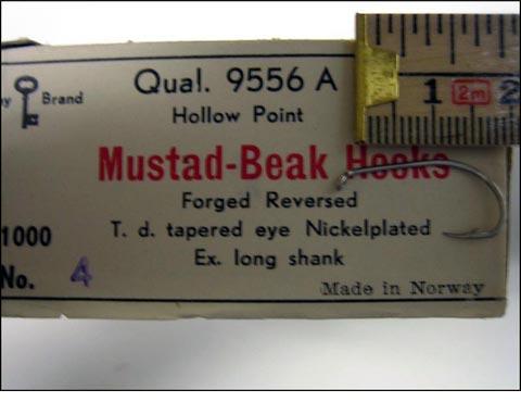 Mustad 9556A No.4 Beak