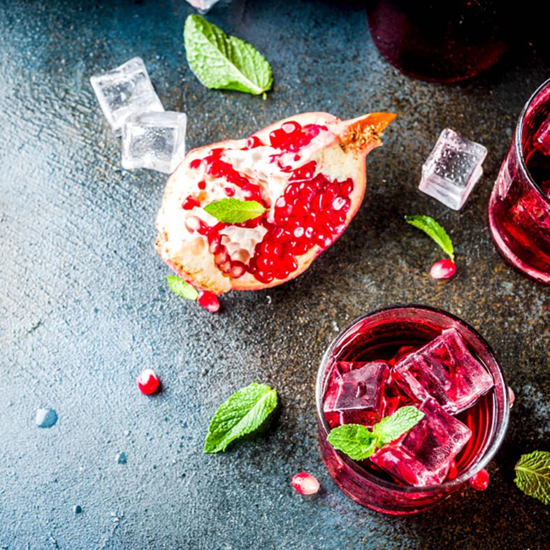 Pomegranate & Mint