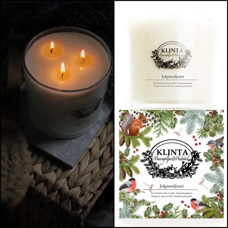 The Christmas Tree Candle