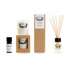 The new scent Black Pepper & Papyrus