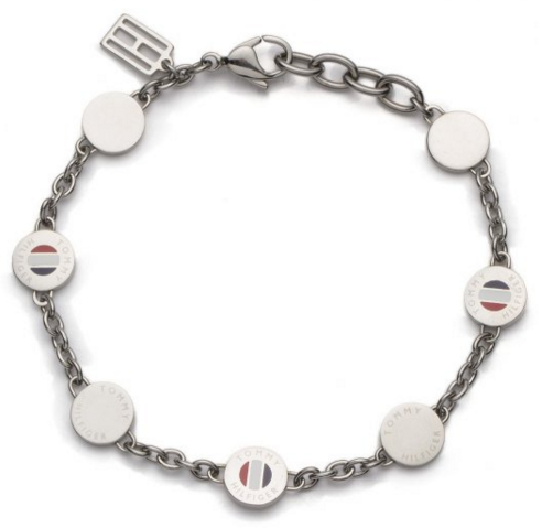 Tommy Hilfiger Classic Signature Coin Bracelet 2700471