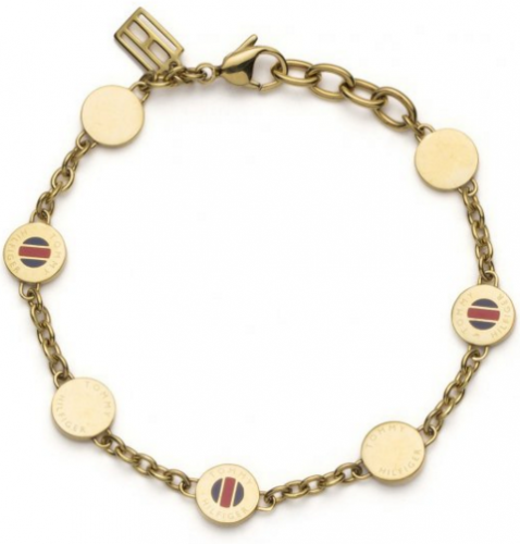 Tommy Hilfiger Classic Signature Coin Bracelet 2700472