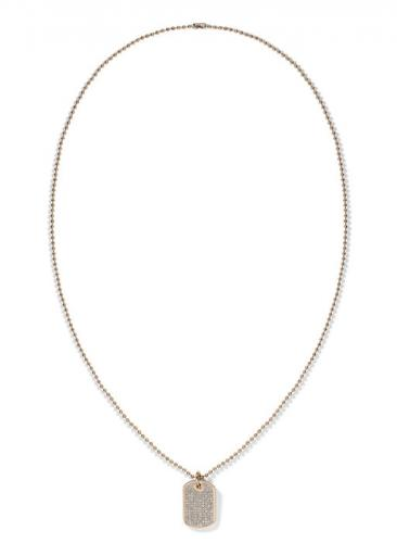 Tommy Hilfiger Mini Pave Dog Necklace 2700749