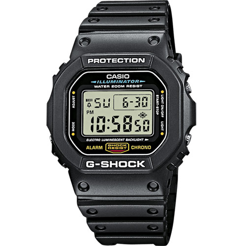 Casio G-Shock Black DW-5600E-1VER - Svart Casioklocka