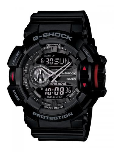 Casio G-Shock Rotary Switch GA-400-1BER