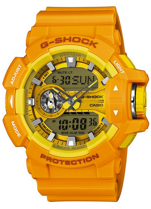 new product da342 6a426 Casio G-shock GA-400a-9aer