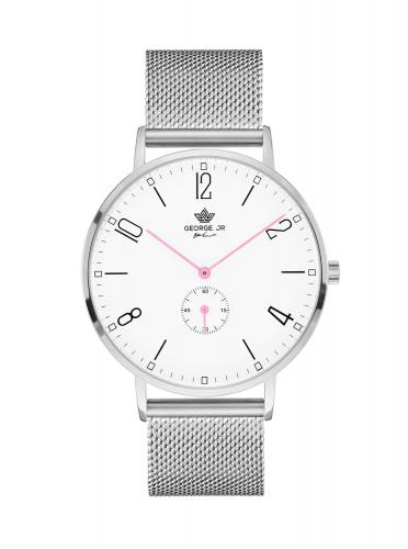 George. JR Timeless Chantelle Steel 38mm