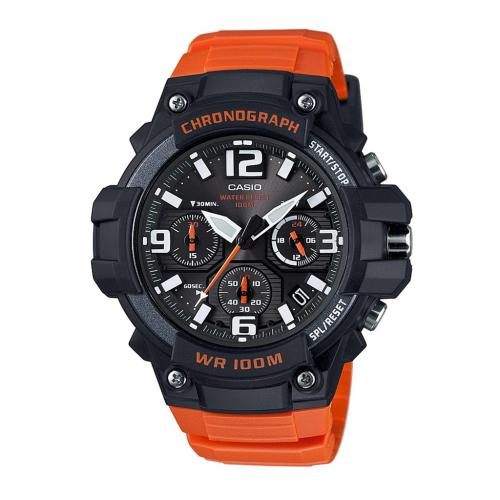 Casio Collection MCW-100H-4AEF - Orange herrklocka