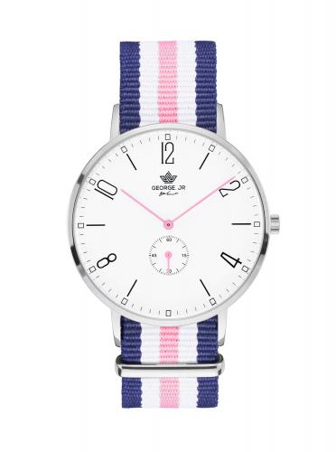 George. JR Timeless Chantelle Nylon 38mm