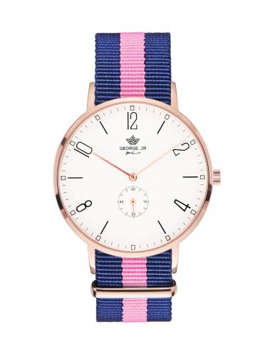George. JR Timeless Cherly Nylon 38mm