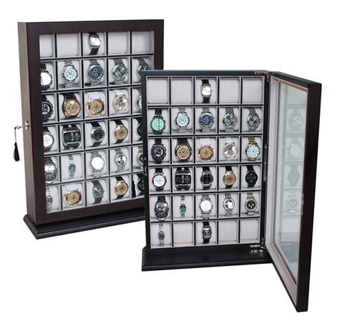 Watch box with wall mount / Watch box for 30 watches