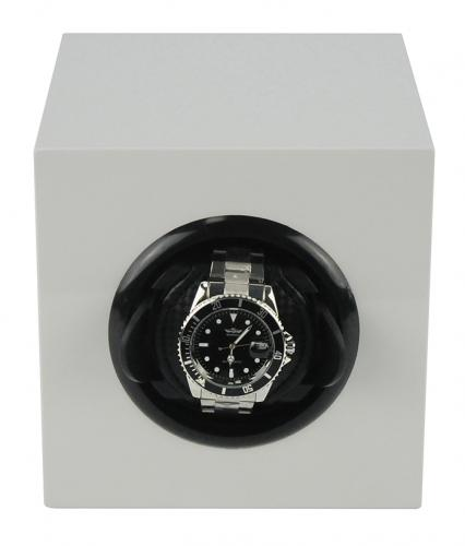 White watch winder