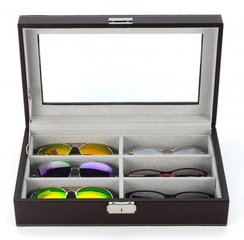 Case for 6 pair of eye glasses / sunglasses