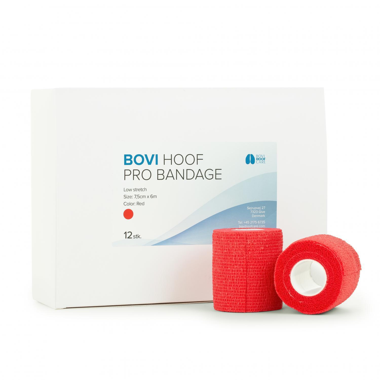 Bovi Hoof PRO Bandage 7,5 cm. 6 m RED 12 rolls