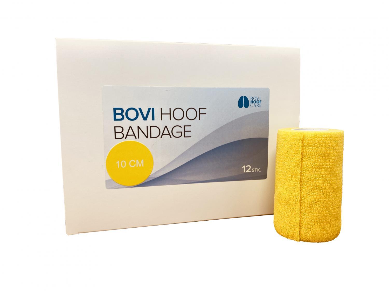 Bovi Hoof Standard Bandage 10 cm. 6 m YELLOW 12 rolls
