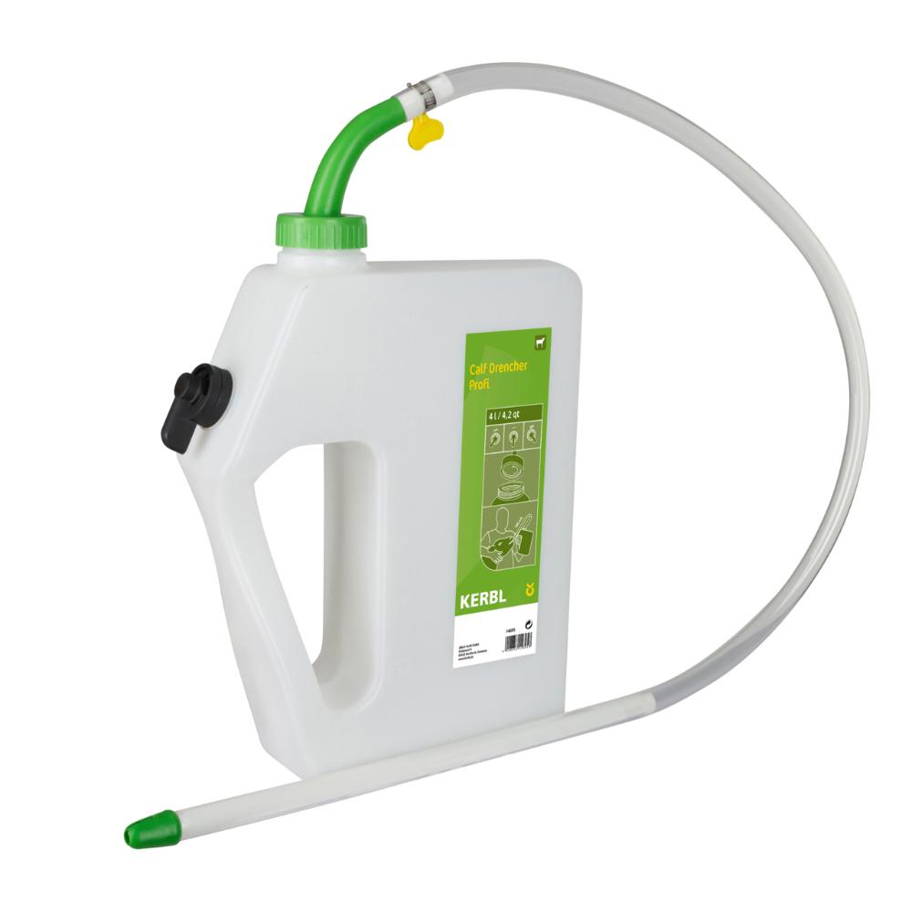 Kalv drencher Profi - 4 liter med flexiblel sond