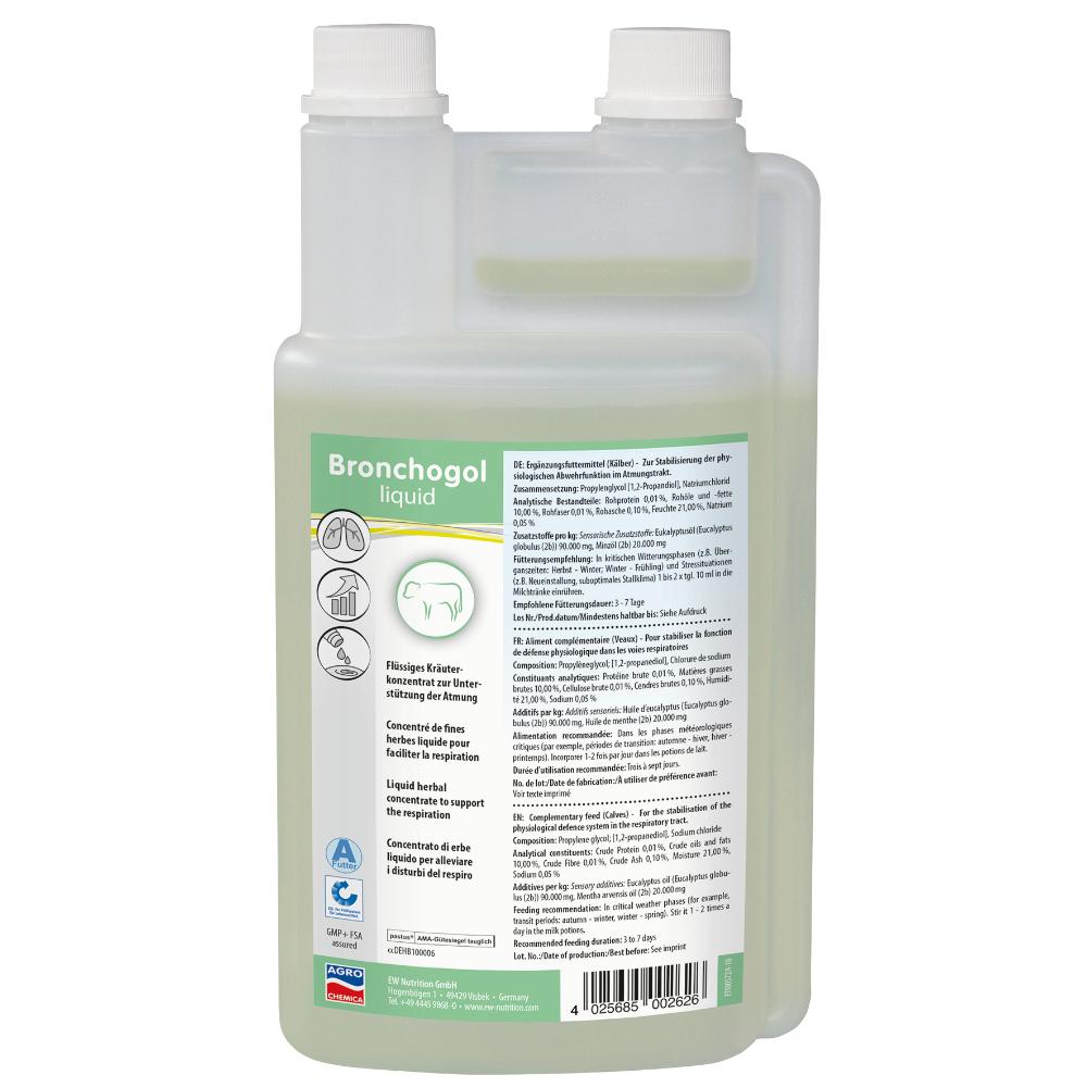 Bronchogol Liquid, 1000 ml