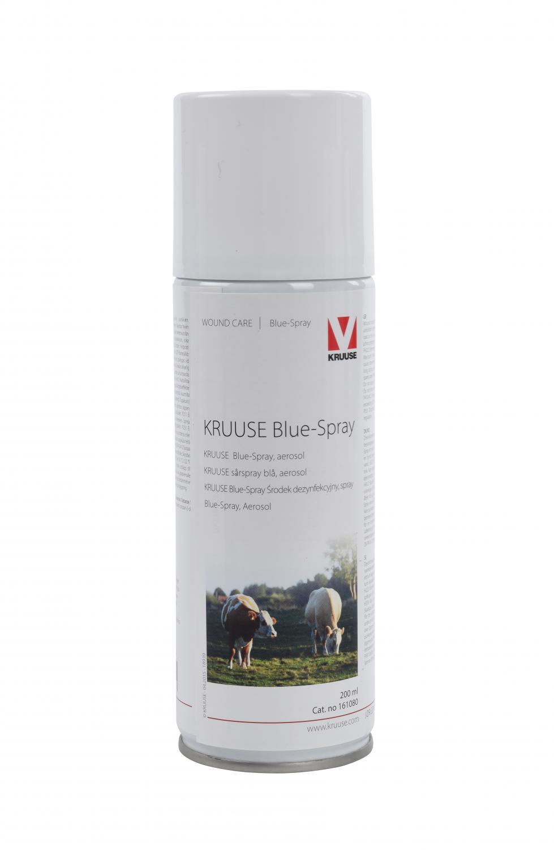 KRUUSE sårspray blue-spray aerosol 200ml 1st