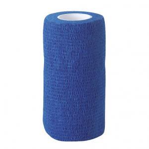 VETlastic Bandage 10 cm. 4.5 m  Blå 18 rullar