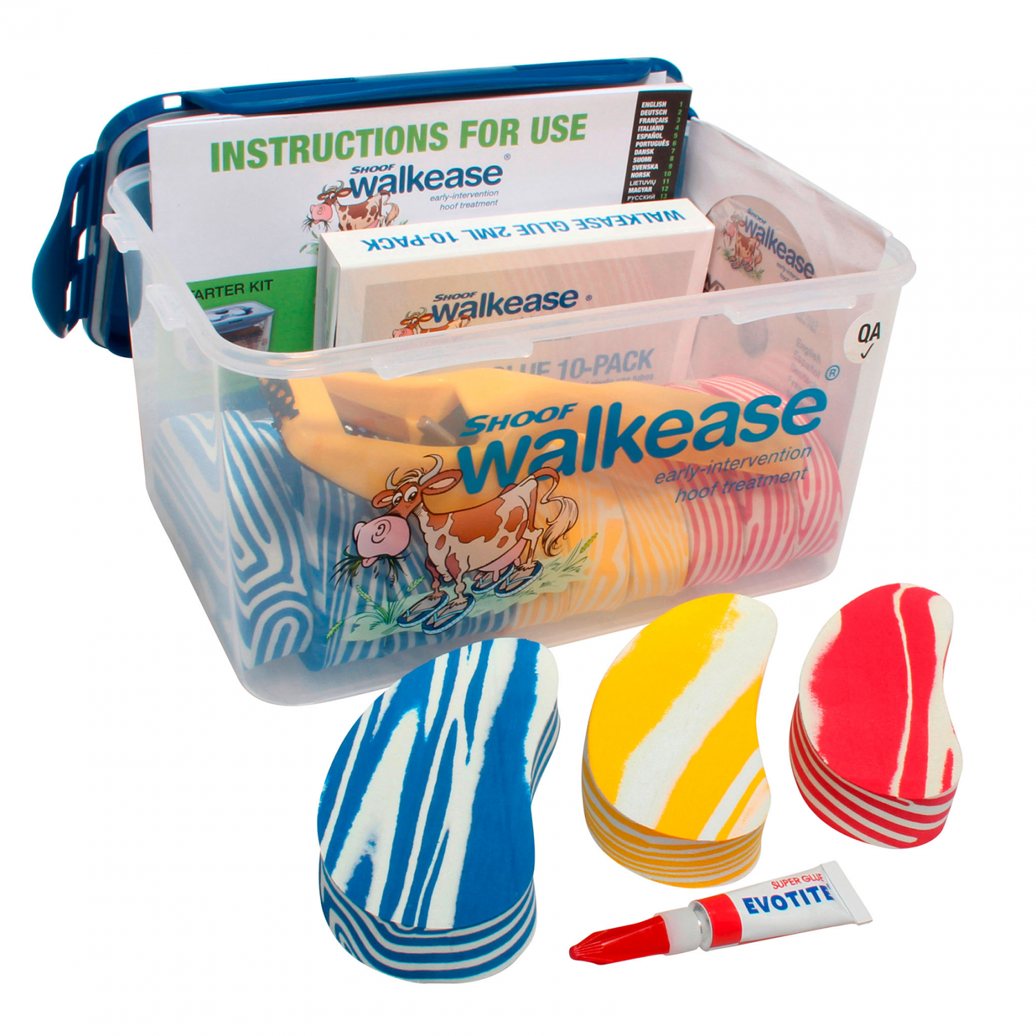 Walkease Mixed sizes Starterkit