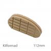 Klövkloss kilformad, 112 mm