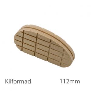 Klövkloss kilformad, standard, 112 mm