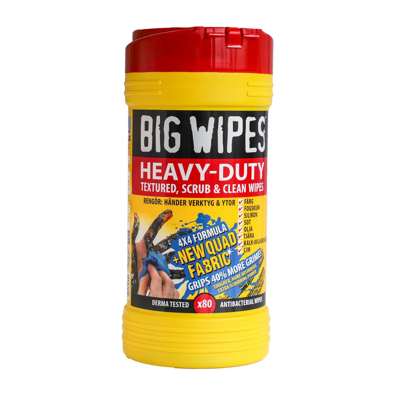 Big Wipes Heavy Duty 80 st Rött Lock