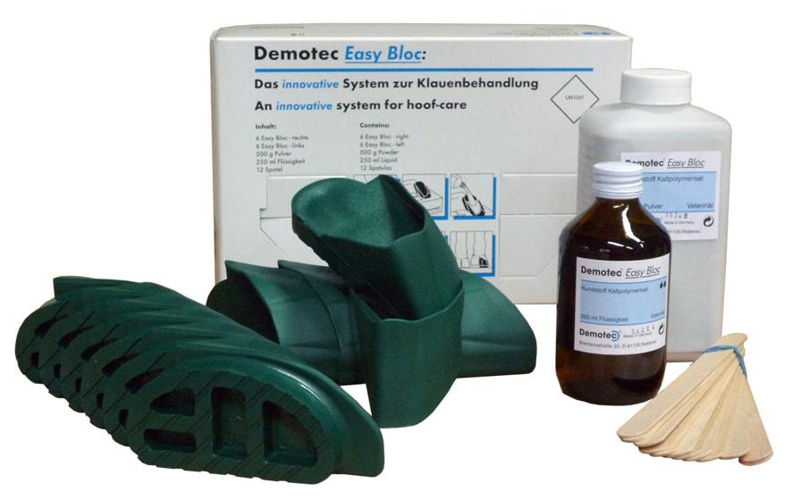 Demotec Easy Bloc Express klövskor, snabbhärdan...