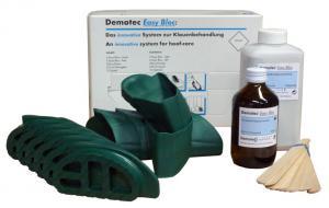 Demotec Easy Bloc Express klövskor, snabbhärdande (6 höger + 6 vänster)