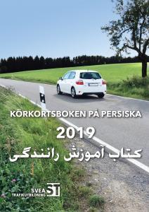 Körkortsboken på Persiska 2019