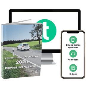 Theory pack 2020: Driving licence book, theory questions, e-book & audiobook