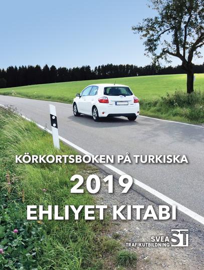 Körkortsboken på Turkiska 2019