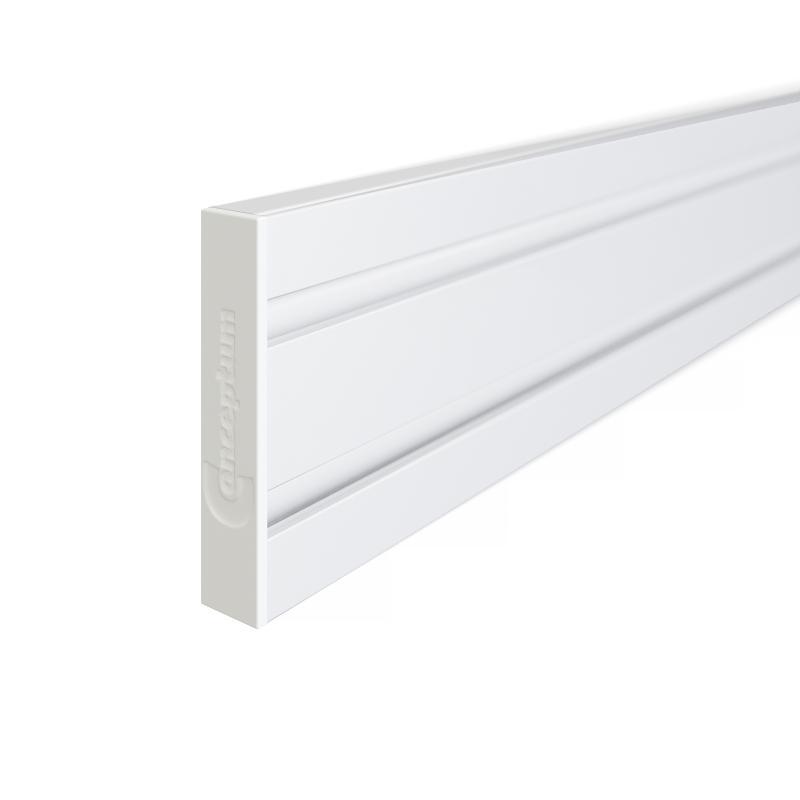 Funktionslist vit, 1050 mm, inkl ändstycken