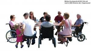 Gata/Trädgårdsbordet 4+4