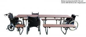 Gata/Trädgårdsbordet Enkla