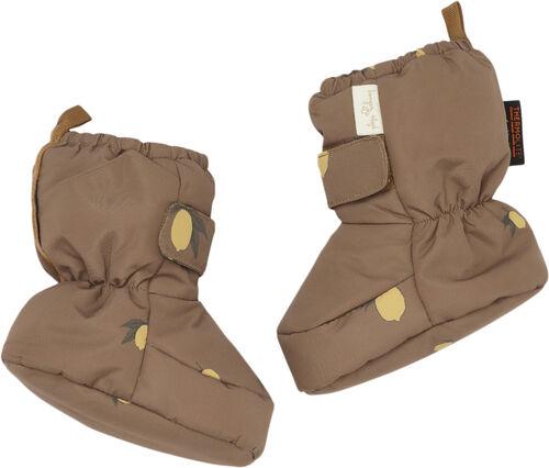 Nohr snow boot- lemon brown
