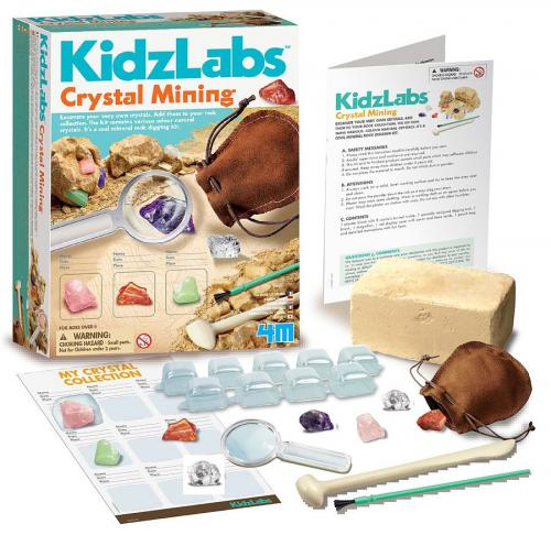 KidzLabs / Crystal Mining