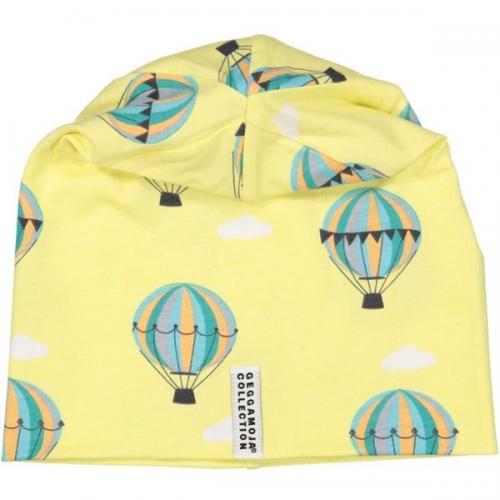 Mössa  limited edition gul luftballong